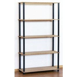Regál kombinovaný Dedal, 5 políc, 142x80x33 cm