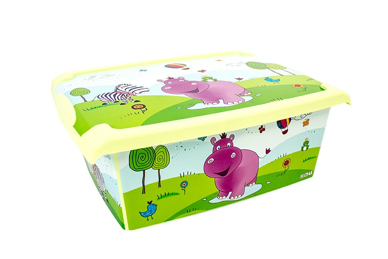 Plastov box fashion mal farebn 39x29x14 cm for Cassapanca x bambini