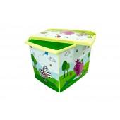 "Plastový box Fashion, ""Hippo"", 39x29x27cm"
