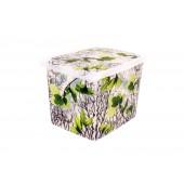 """Plastový box Fashion, """"Spring"""", 39x29x27cm - POSLEDNÝCH 8 KS"""