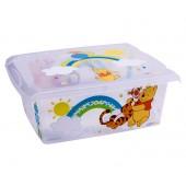 "Plastový box Fashion, ""Macko Pú"", 39x29x14cm"