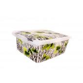 """Plastový box Fashion, """"Spring"""", 39x29x14cm - POSLEDNÝCH 6 KS"""